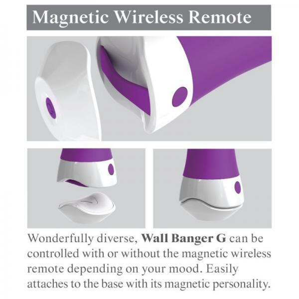 3Some Wall Banger G Purple Silicone Vibe