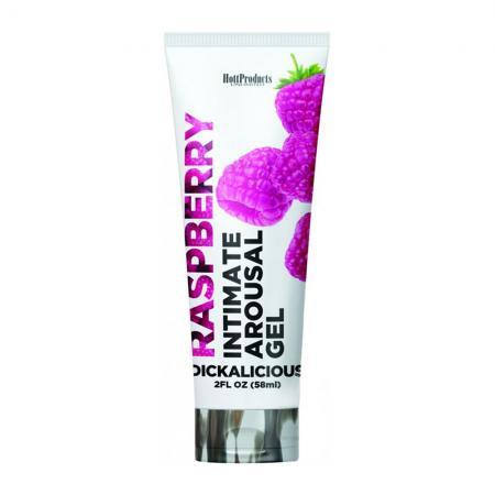 Dickalicious Intimate Arousal Gel 2oz Raspberry