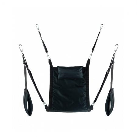 Rectangle Fabric Sling Complete Set In Black