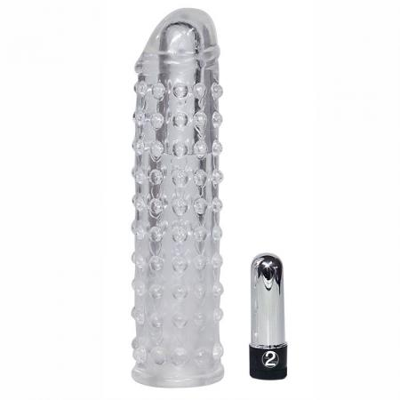 Clear Vibrating Penis Sleeve