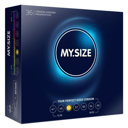 My.Size 53mm Condom 36 Pack