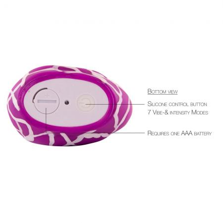 I Rub My Duckie Body Massager Wild Purple