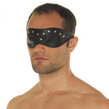 Leather Blindfold Mask